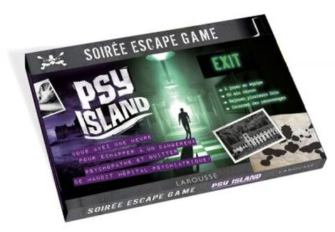Livre - Escape Game - Psy Island