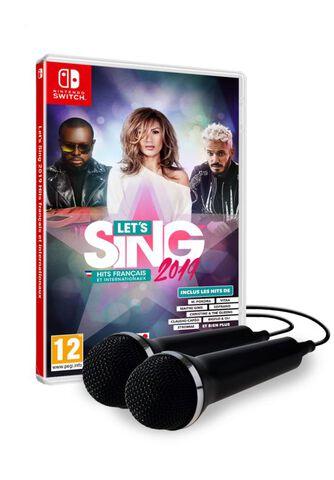 Let's Sing 2019 Hits Français Et Internationaux + 2 Micros