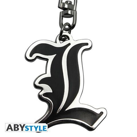 Porte-clés - Death Note - Symbole L