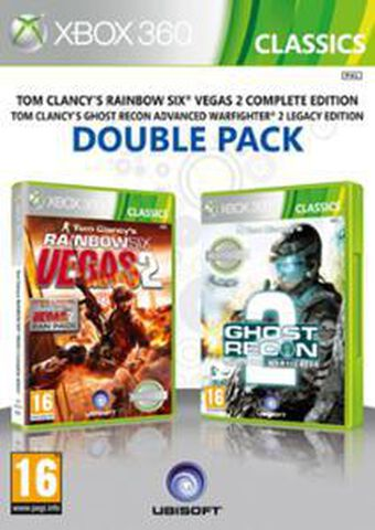 Compil Tom Clancy's Rainbow Six : Vegas 2 + Ghost Recon : Advanced Warfighter 2