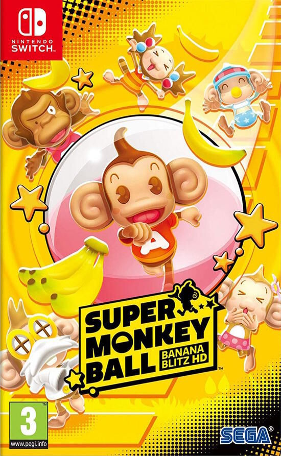 Super Monkey Ball Banana Blitz HD Nintendo Switch