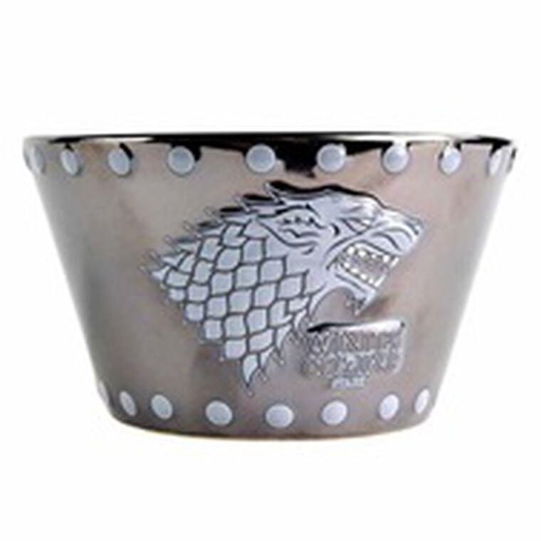 Bol - Game of Thrones - Emblème Stark en relief - Exclusivité Micromania-Zing