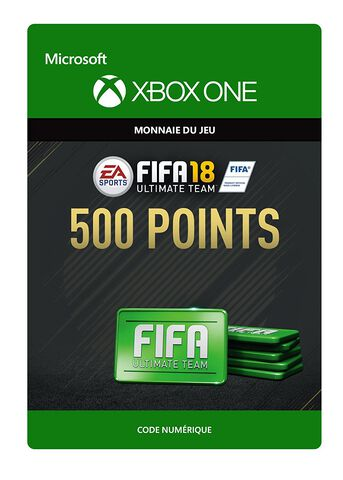 FIFA 18 Ultimate Team 500 Pts Xbox One
