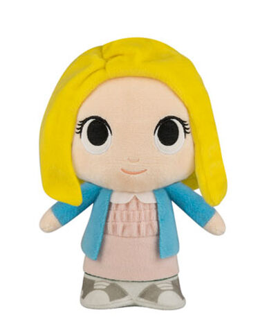 Peluche Supercute - Stranger Things - Eleven avec perruque