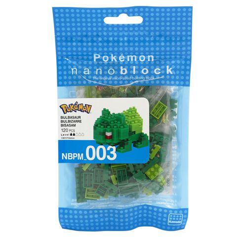 Figurine à monter Nanoblock - Pokémon - Bulbizarre