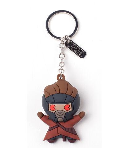 Porte-clés - Marvel - Starlord Kawaii 3D - En caoutchouc