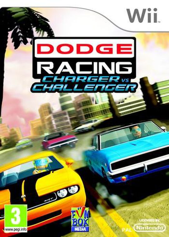 Dodge Racing : Charger Vs Challenger