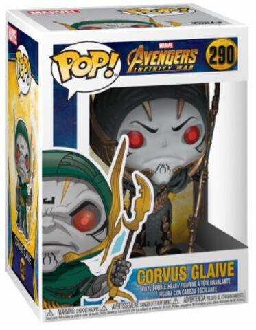 Figurine Funko Pop! N°290 - Avengers Infinity War - Corvus Glaive