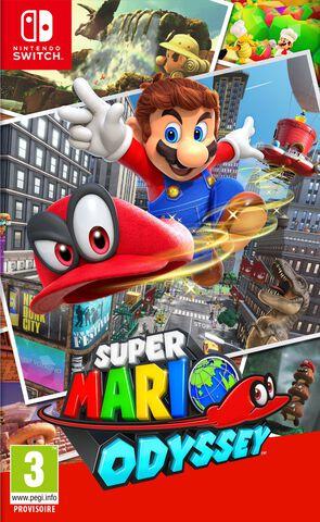 Super Mario Odyssey Version Numérique