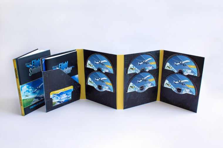 Microsoft Flight Simulator: Premium Deluxe Edition - Dlc - Jeu Complet