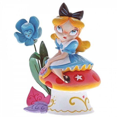 Figurine Miss Mindy - Alice Au Pays Des Merveilles - Alice Sur Champignon