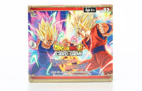 Boite Complete (24 Boosters) - Dragon Ball Super - World Martial Arts Tournament