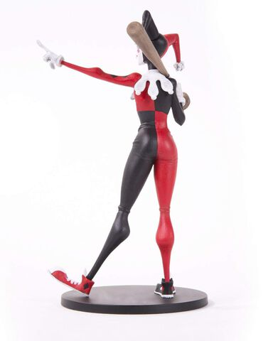 Statuette - DC Artists Alley - Harley Quinn par Hainanu Nooligan Saulque 17 cm