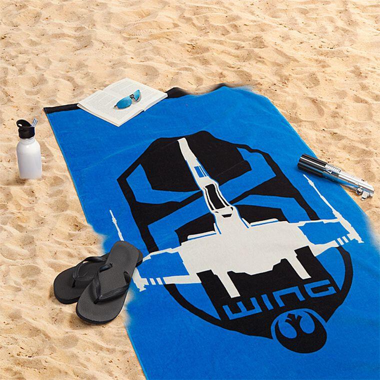 Serviette de plage - Star Wars - X-Wing - Exclusivité Micromania-Zing