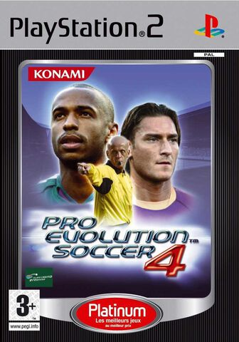 Pro Evolution Soccer 4 Platinum