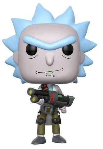 Figurine Funko Pop! N°172 - Rick Et Morty - Weaponized Rick