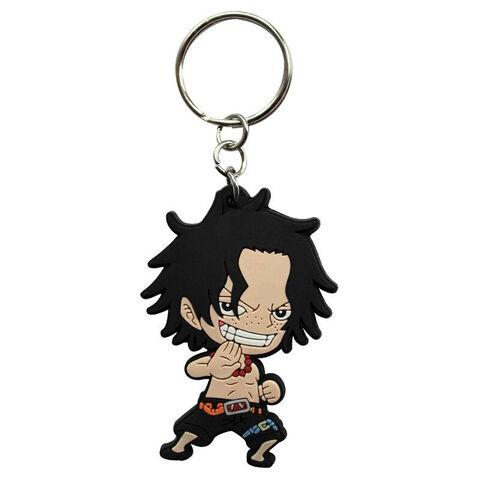 Porte-clés - One Piece - Ace Sd PVC