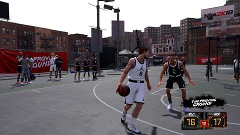 * NBA 2k18