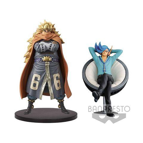 Statuettes DXF - One Piece - Vinsmoke Family - Judge & Niji