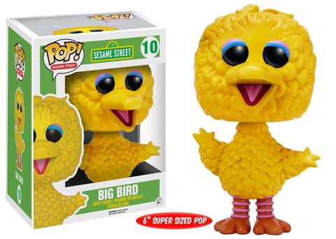 Figurine Funko Pop! N°10 - Sesame Street - Big Bird