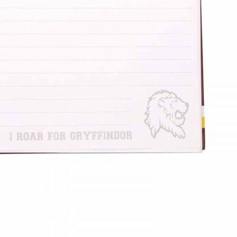 Cahier A Spirales A4 - Harry Potter - G Pour Gryffondor