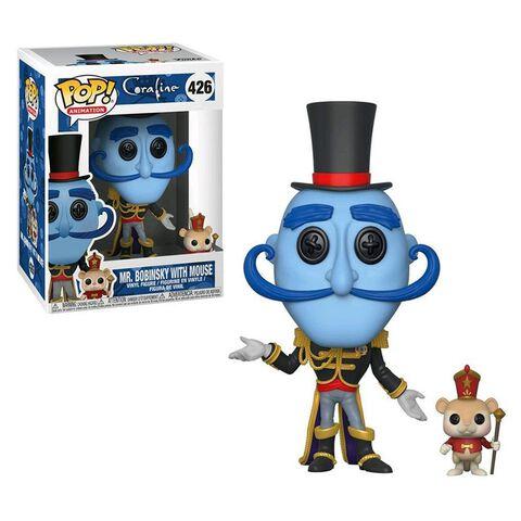 Figurine Funko Pop! N°426 - Coraline - Mr Bobinsky avec souris