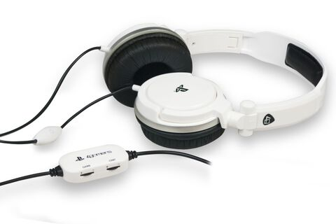 Casque Stereo PS4 - PS Vita - Dual Format Blanc
