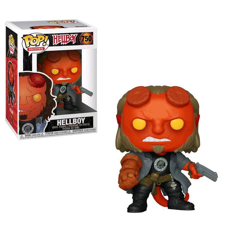 Figurine Funko Pop! N°750 - Hellboy - Hellboy avec T-shirt Bprd
