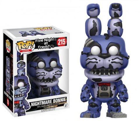 Figurine Funko Pop! N°215 - Five Nights At Freddy's - Nightmare Bonnie