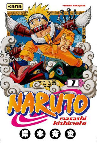 Manga - Naruto - Tome 1