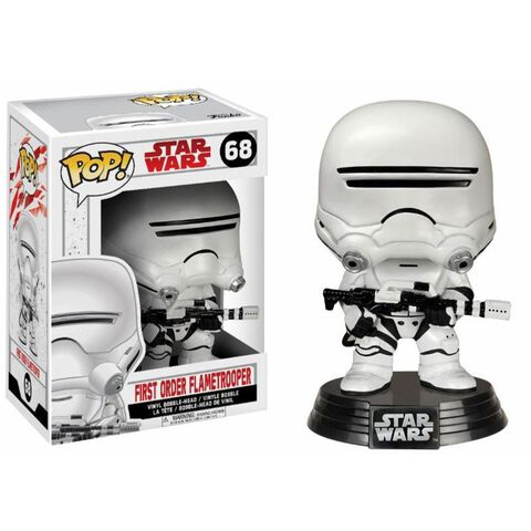 Figurine Funko Pop! N°68 - Star Wars - Episode VIII - First Order Flametrooper