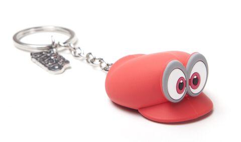 Porte-clés - Mario Odyssey - Casquette - Exclusif Micromania - Gamestop
