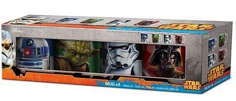 Mugs Coffret X4 Star Wars