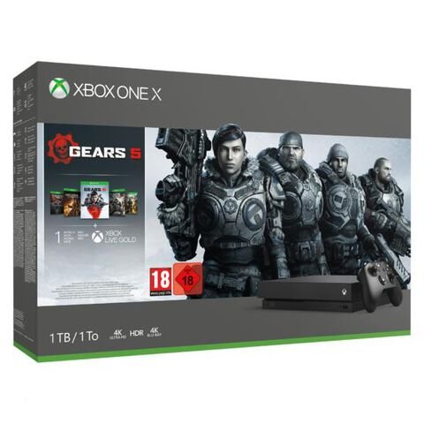 Pack  Xbox One X 1to + Gears 5