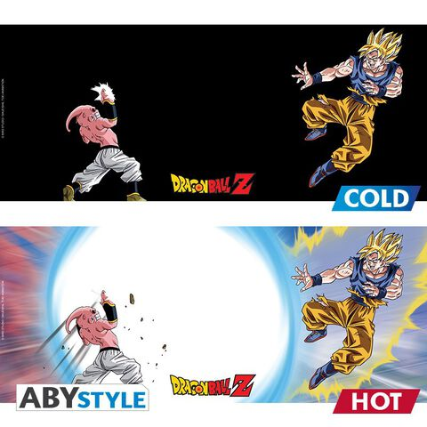 Mug - Dragon Ball - Heat Change Goku vs Boo 460 ml