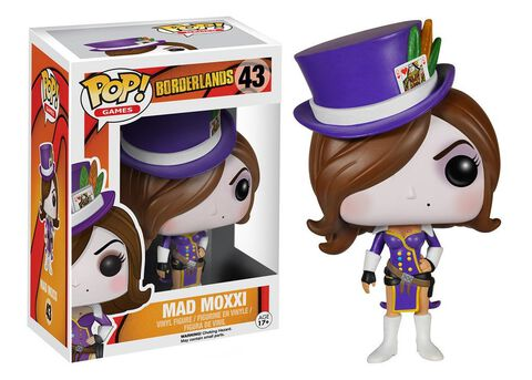 Figurine Funko Pop! N°43 - Borderlands - Mad Moxxi