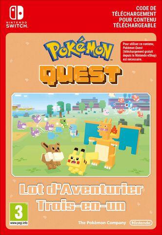 Pokémon Quest - DLC : Lot d'Aventurier Trois-en-un - Version digitale