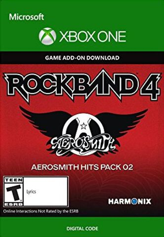 DLC - Rock Band 4 Aerosmith Hits Pack 02 Xbox One