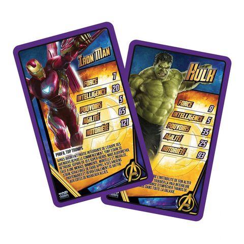 Jeu de Bataille - Top Trumps - Avengers : Infinity War