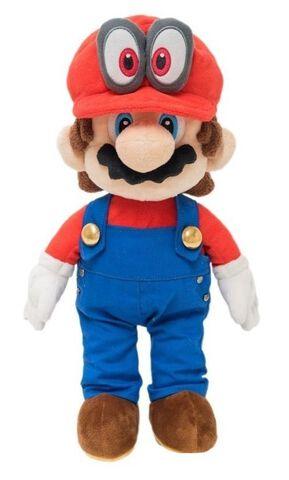 Peluche - Super Mario Odyssey - Mario 40 cm