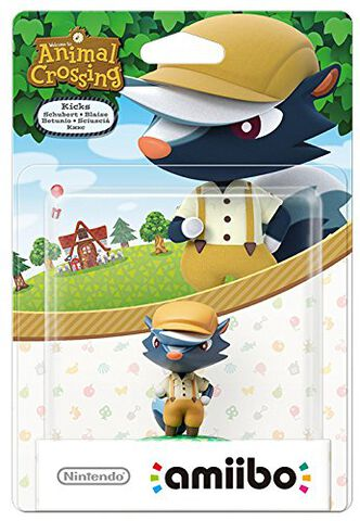 Figurine Amiibo Animal Crossing Blaise