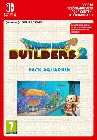 Dragon Quest Builders 2 - Dlc - Pack Aquarium