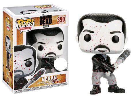 Figurine Funko Pop! N°390 - The Walking Dead - S7 Negan en noir et blanc