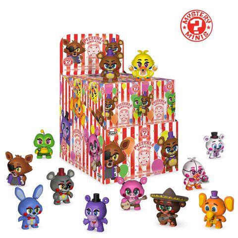 Figurine Mystère - Five Nights at Freddy's 6 - Assortiment