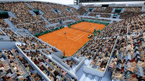 Tennis World Tour Roland Garros