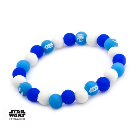 Bracelet - Star Wars - R2-D2 en perles