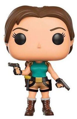Figurine Funko Pop! N°168 - Tomb Raider - Lara Croft