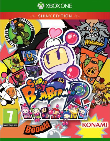 Super Bomberman R-shiny Edition