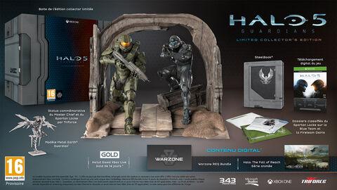 Halo 5 : Guardians Edition Collector Limitée - Exclusivité Micromania