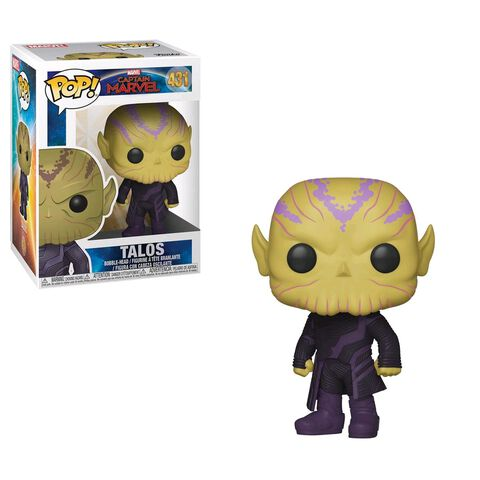 Figurine Funko Pop! N°431 - Captain Marvel - Talos